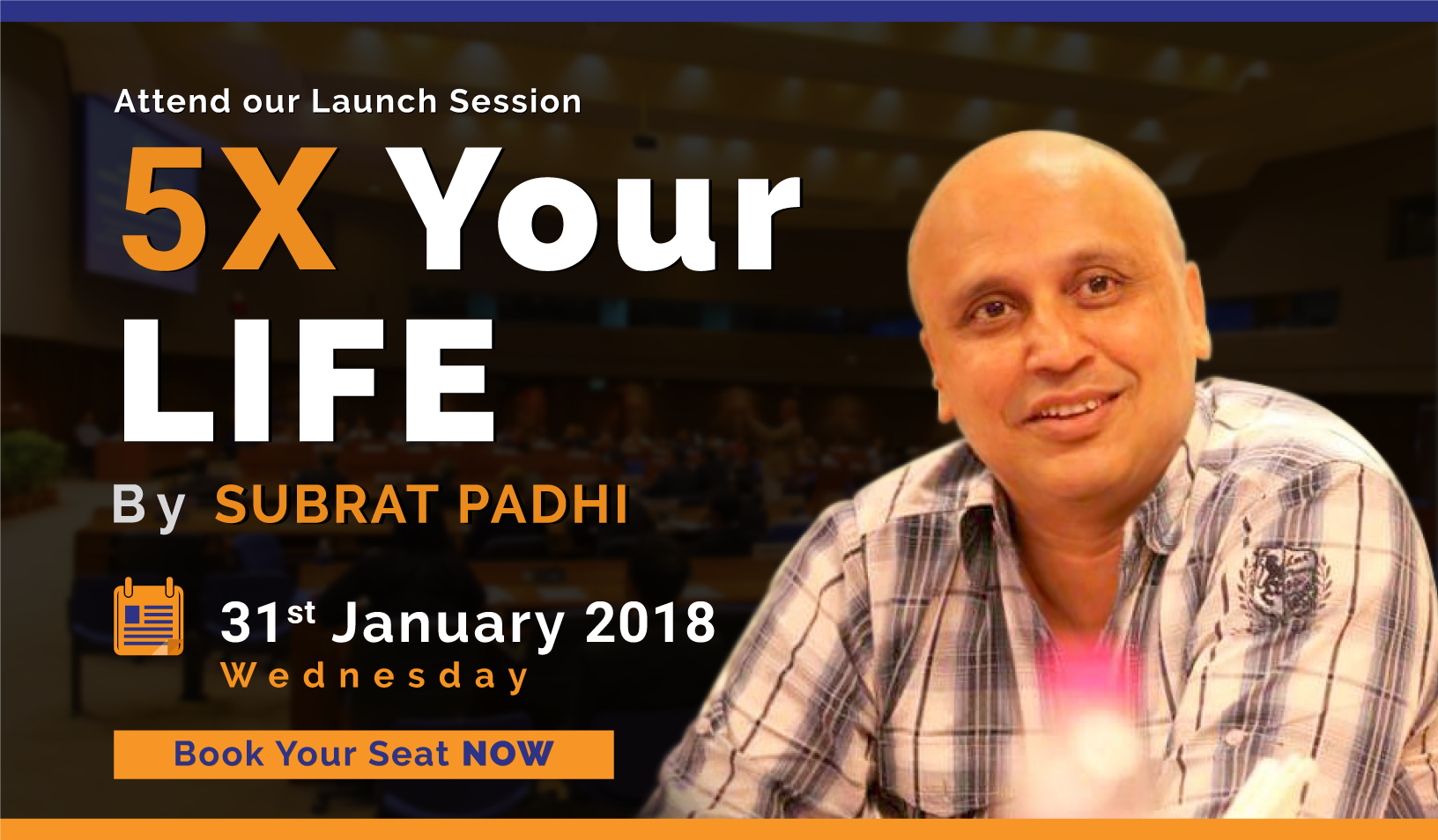 5X Your Life – An event by The Inspired Talks