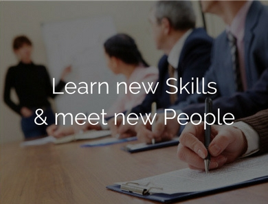 Learn New skills & meet new poeple