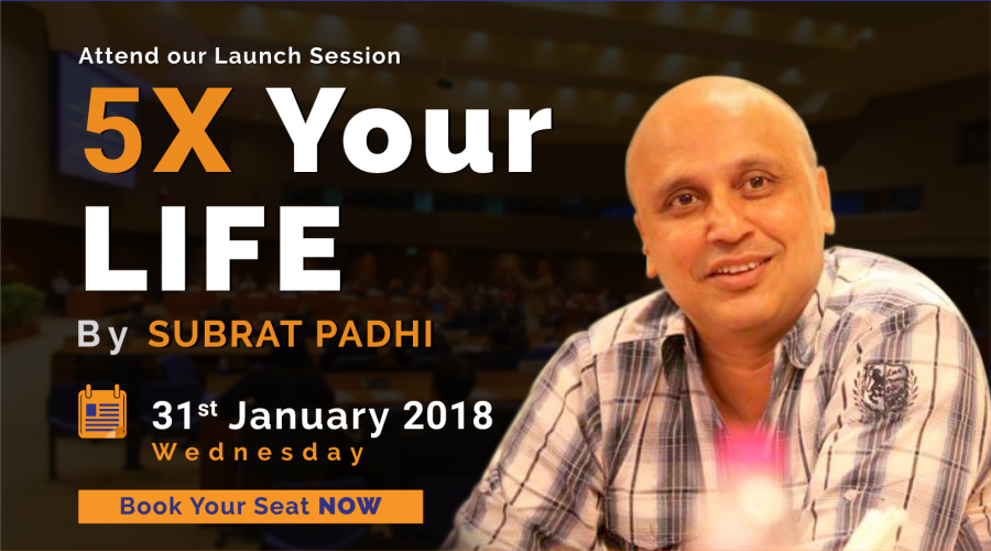 5X Your Life by Subrat Padhi_31012018