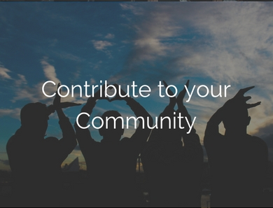 Contribute to Your Community