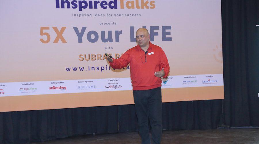 5X Your Life I January 31 2018 I The Inspired Talks