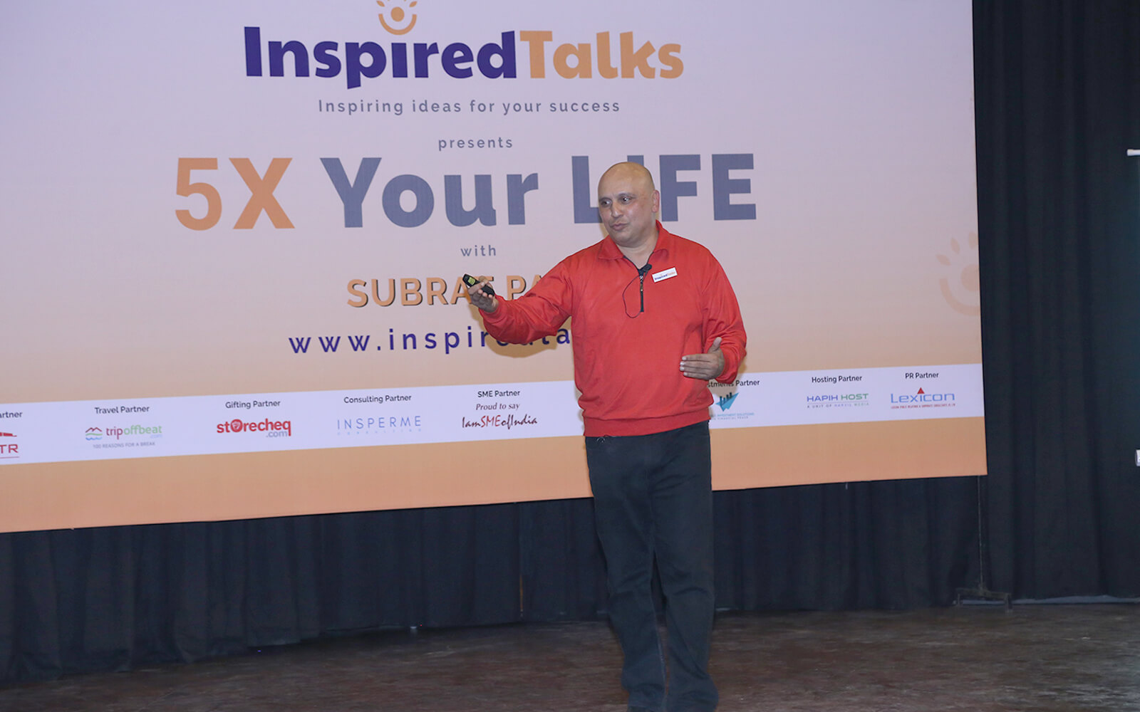 Press Release – 5X Your Life An event by The Inspired Talks